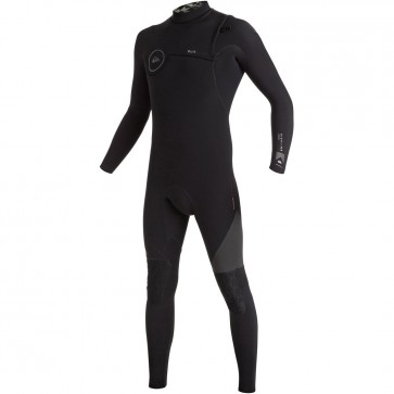 Quiksilver Highline 4/3 Zipperless Wetsuit - Black