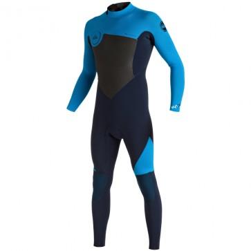 Quiksilver Syncro 3/2 Back Zip Wetsuit - Navy Blazer