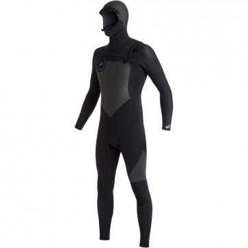 Quiksilver Syncro 5/4/3 Hooded Wetsuit - Black