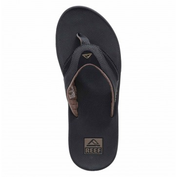 Reef Fanning Sandals - Black/Brown