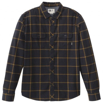 Reef Cold Dip 8 Flannel - Black