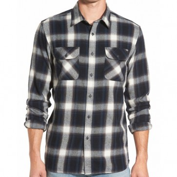 Rip Curl Zarco Plaid Flannel - Black