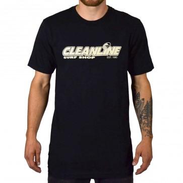 Cleanline Rip Curl Wettie Classic T-Shirt - Black