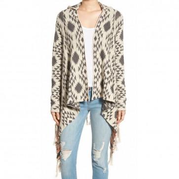 Rip Curl Women's Desert Nights Cardigan Sweater - Vanilla
