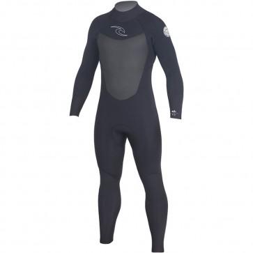 Rip Curl Dawn Patrol 5/3 Back Zip Wetsuit - Black