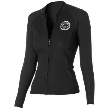 Rip Curl Wetsuits Women's Dawn Patrol Long Sleeve Jacket - Black