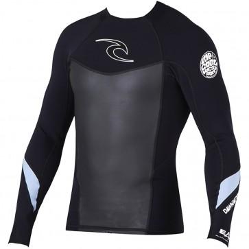 Rip Curl Wetsuits Dawn Patrol 1.5mm Long Sleeve Jacket - Black