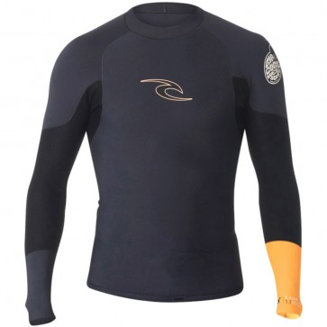 Rip Curl Wetsuits E-Bomb Pro 1mm Long Sleeve Jacket - Slate