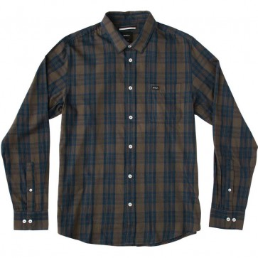 RVCA Lament Long Sleeve Shirt - Forest