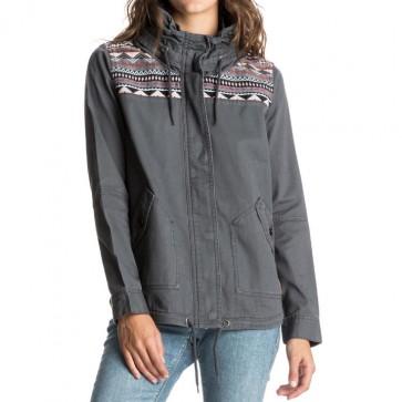 Roxy Women's Winter Cloud Jacket - Asphalt