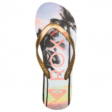Roxy Women's Tahiti V Sandals - Rose Gold