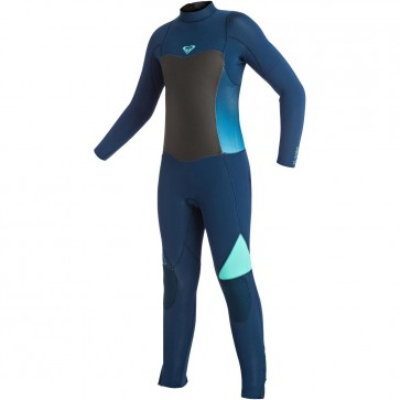 Roxy Youth Girls Syncro 3/2 Wetsuit - Blue Print