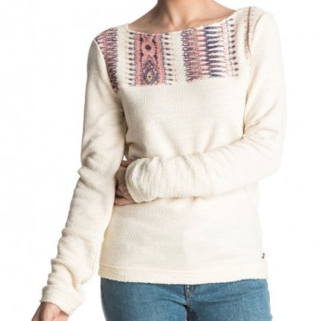 Roxy Women's Soul Feeling Pullover Sweater - Pristine