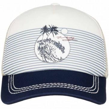Roxy Women's Truckin Trucker Hat - Sand Piper