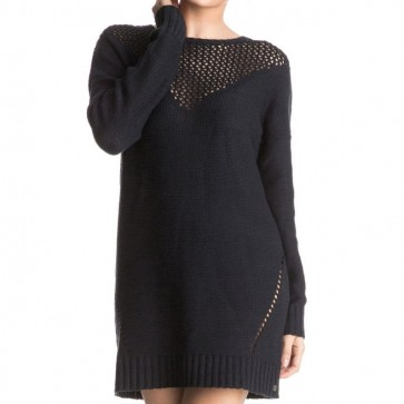 Roxy Women's Borrowed Time Sweater Dress - True Black