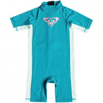 Roxy Wetsuits Toddler So Sandy Spring Suit - Dark Jade/Soothing Sea