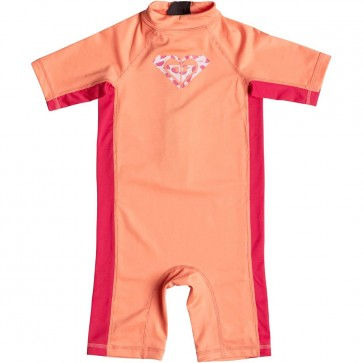 Roxy Wetsuits Toddler So Sandy Spring Suit - Sunkissed Coral/Tomato Red
