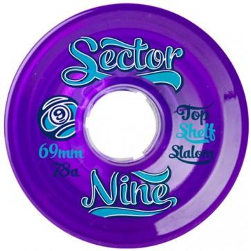Sector 9 69mm 9-Balls Wheels - Purple