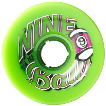 Sector 9 74mm 9-Balls Wheels - Green