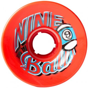 Sector 9 74mm 9-Balls Wheels - Red