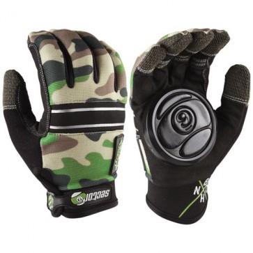 Sector 9 BHNC Slide Gloves - Camo