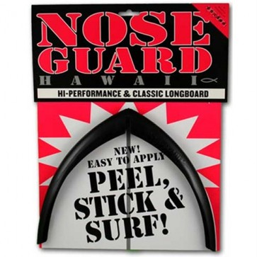 Surfco Hawaii Longboard Nose Guard - Black