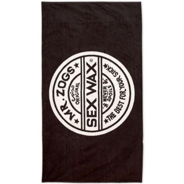Sex Wax Jacquard Beach Towel