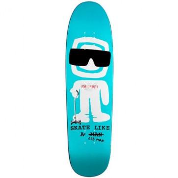 Powell Peralta Slaom Funshape Deck - Turquoise