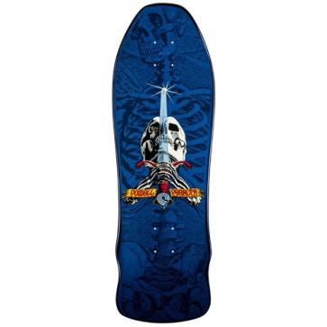 Powell Peralta Geegah Skull And Sword Deck - Blue