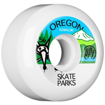 Bones 56mm SPF Pro Kowalski Parks Wheels - White