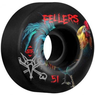 Bones 51mm STF Pro Sierra Roost Wheels - Black