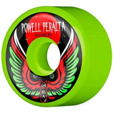 Powell Peralta 64mm Bomber Wheels - Green