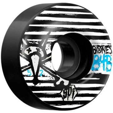 Bones 52mm SPF Strokes Wheels - Black