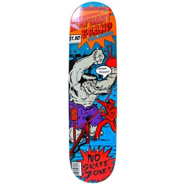 Elephant Brand Skateboards Ticket Deck - Orange
