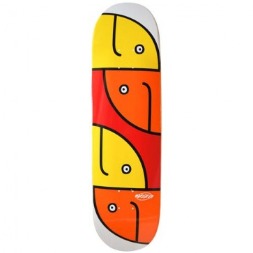 Hosoi Skateboards Gonz Fish Head Deck - White