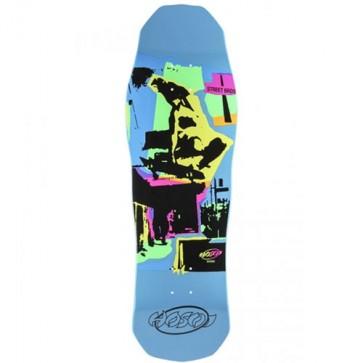Hosoi Skateboards Pop Art '87 Deck - Blue