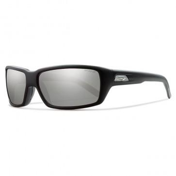 Smith Backdrop Polarized Sunglasses - Matte Black/Chromapop Platinum