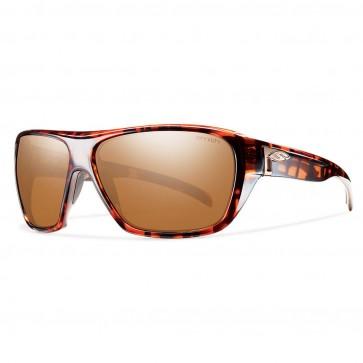 Smith Chief Polarized Sunglasses - Copper Plaid/Techlite Copper Mirror