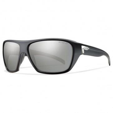 Smith Chief Polarized Sunglasses - Matte Black/Chromapop Platinum