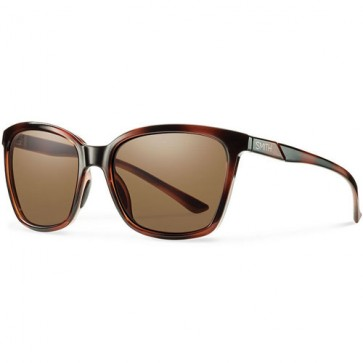 Smith Women's Colette Polarized Sunglasses - Tortoise/Chromapop Brown