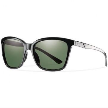 Smith Women's Colette Sunglasses - Black/Grey Green