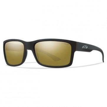 Smith Dolen Polarized Sunglasses - Matte Black/Chromapop Bronze Mirror