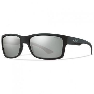 Smith Dolen Polarized Sunglasses -Matte Black/Chromapop Platinum