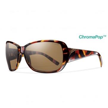 Smith Women's Hemline Polarized Sunglasses - Vintage Tortoise/ChromaPop Brown