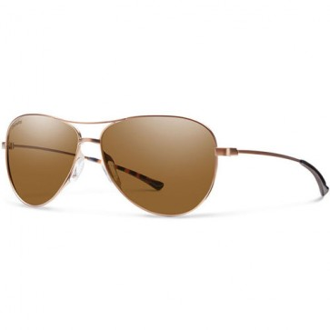 Smith Women's Langley Polarized Sunglasses - Matte Desert/Chromapop Brown
