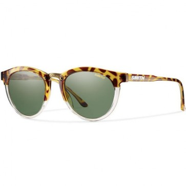 Smith Questa Sunglasses - Amber Tortoise/Green