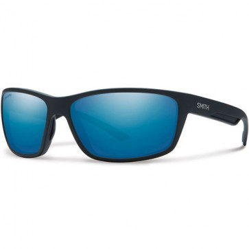 Smith Redmond Polarized Sunglasses - Matte Black/Chromapop+ Blue Mirror