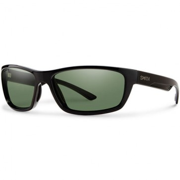 Smith Ridgewell Polarized Sunglasses - Black/Chromapop+ Grey Green