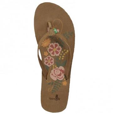 Sanuk Women's Flora The Explora Sandals - Tan