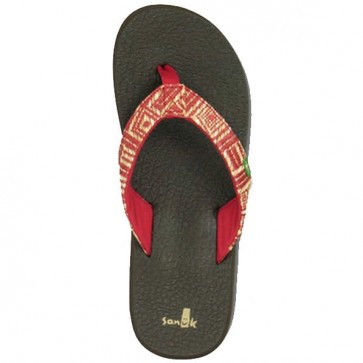 Sanuk Women's Yoga Chi Sandals - Red